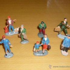 Figuras de Goma y PVC: PECH SERIE FIGURAS MINI FERROVIARIOS. Lote 46775217
