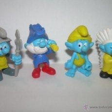 Figuras de Goma y PVC: FIGURAS PITUFOS.....PEYO. Lote 46776394