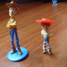 Figuras de Goma y PVC: FIGURAS WOODY DISNEY PIXAR. Lote 46845120