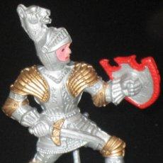 Figuras de Goma y PVC: CABALLERO MEDIEVAL LAFREDO - GUERRERO LAFREDO. Lote 46929855