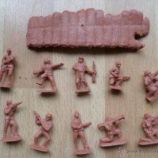 Figuras de Goma y PVC: MONTAPLEX SOLDADOS JAPONESES TAMAÑO MEDIO. Lote 46951015