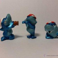 Figuras de Goma y PVC: Z-068- TRES FIGURAS DE GOMA O PVC.. Lote 47008829