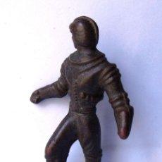 Figuras de Goma y PVC: FIGURA ANTIGUA DE ASTRONAUTA (GOMA DURA). Lote 47168536