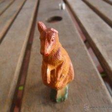 Figuras de Goma y PVC: FIGURA EN PLASTICO O GOMA ANIMALES DE PECH CANGURO. Lote 47183845