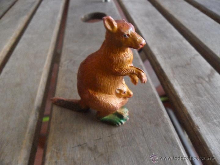 Figuras de Goma y PVC: FIGURA EN PLASTICO O GOMA ANIMALES DE PECH CANGURO - Foto 3 - 47183845