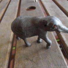 Figuras de Goma y PVC: FIGURA EN PLASTICO O GOMA ANIMALES DE PECH ELEFANTE . Lote 47183957