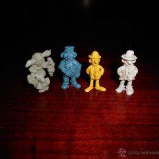 Figuras de Goma y PVC: LOTE FIGURAS DUNKIN BRUGUERA GOTERA URRACA OTILIO CROPAN AÑOS 1985 1986. Lote 47221022