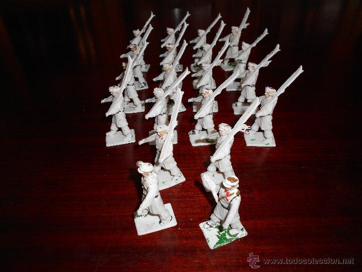 Figuras de Goma y PVC: CUERPO DE ESQUIADORES TROPA DE MONTAÑA DIORAMA REAMSA GOMARSA 20 FIGURAS COMPLETO DIFICIL - Foto 3 - 47223209