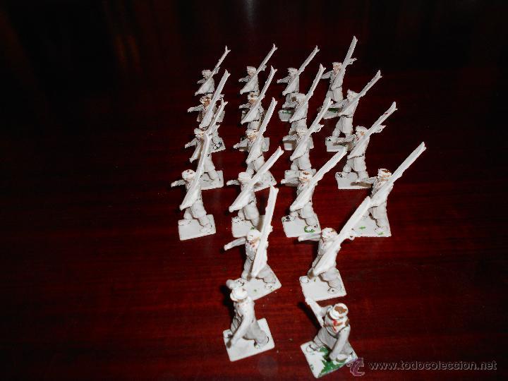 Figuras de Goma y PVC: CUERPO DE ESQUIADORES TROPA DE MONTAÑA DIORAMA REAMSA GOMARSA 20 FIGURAS COMPLETO DIFICIL - Foto 4 - 47223209