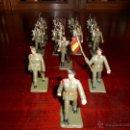Figuras de Goma y PVC: 13 FIGURAS DE PARACAIDISTAS. PLASTICO PINTADO GOMARSA, REAMSA ,SOLDIS 1960-70S. Lote 51112572