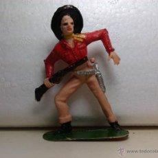 Figuras de Goma y PVC: VAQUERO - JECSAN. Lote 47240425