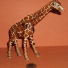 Figuras de Goma y PVC: FIGURA EN GOMA - JIRAFA SCHLEICH 2003 GERMANY . Lote 47254263