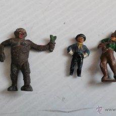 Figuras de Goma y PVC: LOTE DE 3 FIGURAS JECSAN AÑOS 60 GOMA Y PLASTICO. Lote 47430779