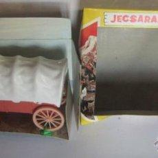 Figuras de Goma y PVC: JECSAN, JECSARAMAS DEL OESTE, CARRETA CARAVANA, REF 125, EN CAJA. CC. Lote 47442605