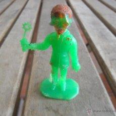 Figuras de Goma y PVC: FIGURA DEL ESPACIO LOS GUARDIANES THUNDERBIRDS MIDE SOBRE 7.5 CM. Lote 47553338