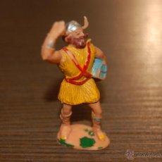 Figuras de Goma y PVC: RARA FIGURA PLASTICO VIKINGO KYRIL SERIE CAPITAN TRUENO ESTEREOPLAST.. Lote 47587698