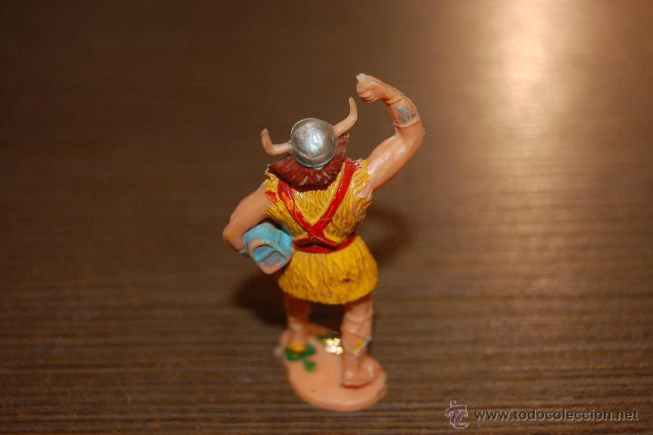 Figuras de Goma y PVC: RARA FIGURA PLASTICO VIKINGO KYRIL SERIE CAPITAN TRUENO ESTEREOPLAST. - Foto 2 - 47587698