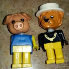 Figuras de Goma y PVC: LOTE RARAS FIGURAS ANIMALES DE LEGO. Lote 157685589