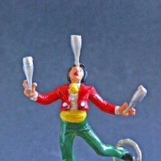 Figuras de Goma y PVC: FIGURA DE EQUILIBRISTA DEL CIRCO. Lote 47656266