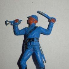 Figuras de Goma y PVC: YANKEE OESTE CONFEDERADOS. Lote 47744676