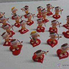 Figuras de Goma y PVC: CUPIDOS DE SAN VALENTIN 24 UNIDADES. Lote 47842778