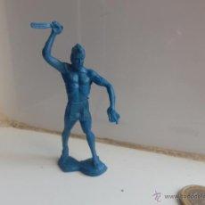 Figuras de Goma y PVC: INDIO PVC AÑOS 60 OESTE TAMAÑO ALFREDO 8/10 CM. Lote 47861331