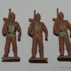 Figuras de Goma y PVC: 3 SOLDADOS DE LA LEGION, REALIZADOS EN PLASICO, MIDEN 7 CMS.. Lote 47892504