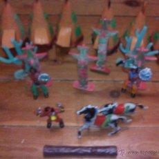 Figuras de Goma y PVC: INDIOS COMANSI. Lote 47960528
