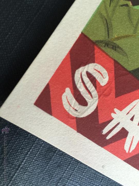 Figuras de Goma y PVC: Cartel doble de publicidad ARCLA - Africa salvaje años 50 - Con texto por detras - Perfecto - Foto 2 - 48009340