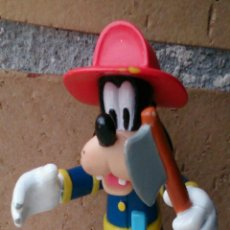 Figuras de Goma y PVC: FIGURA GOOFY DISNEY BOMBERO. Lote 48033041