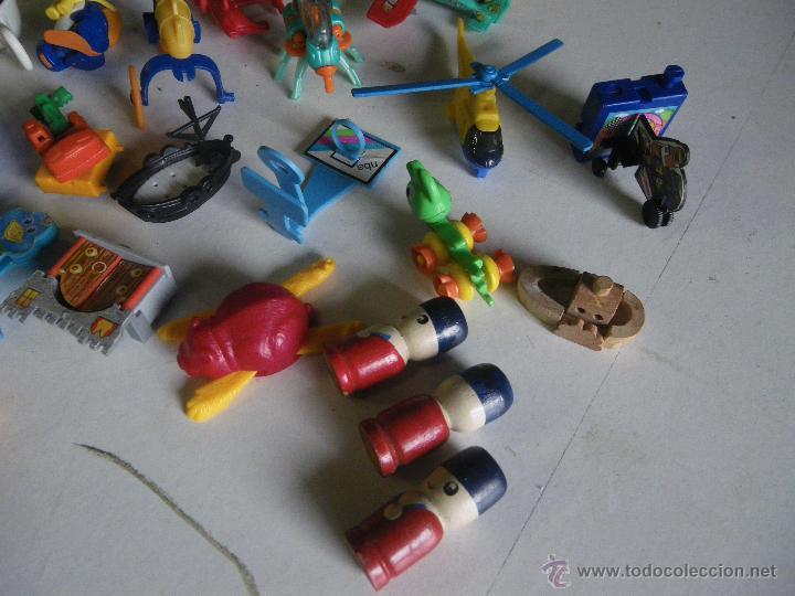 Figuras Kinder: LOTE DE FIGURAS Y VARIEDAD DE FERRERO Y KINDER ,,,VER - Foto 2 - 48045429