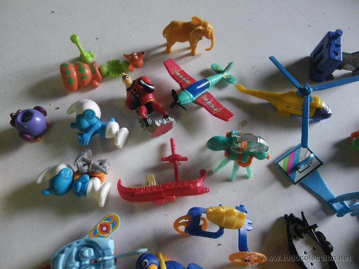 Figuras Kinder: LOTE DE FIGURAS Y VARIEDAD DE FERRERO Y KINDER ,,,VER - Foto 3 - 48045429