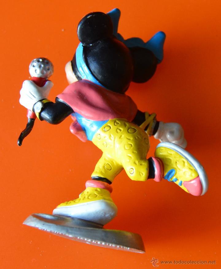 Figuras de Goma y PVC: MINNIE MOUSE - CANTANTE - CON MICROFONO - BULLY - WALT DISNEY - 1988 - Foto 2 - 48126130