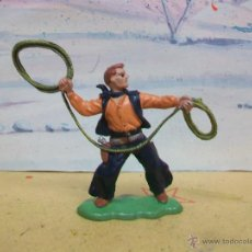 Figuras de Goma y PVC: VAQUERO BRITAINS LTD - FIGURA PLASTICO DE BRITAINS LTD . Lote 48218114