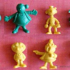 Figuras de Goma y PVC: LOTE DE 8 FIGURAS DUNKIN, BRUGUERA, DOÑA URRACA, BOTONES SACARINO, FILEMÓN, ZIPI Y Z... . Lote 48281603