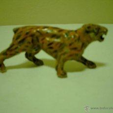 Figuras de Goma y PVC: FIGURA LEOPARDO -TIGRE DE JECSAN,REAMSA ETC. Lote 48320824