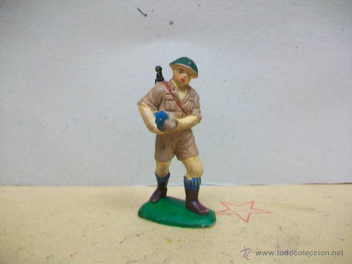 FIGURA INGLES PECH HERMANOS - FIGURA GOMA HERMANOS PECH - INGLES GOMA AÑOS 50 / 60 (Juguetes - Figuras de Goma y Pvc - Pech)