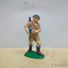 Figuras de Goma y PVC: FIGURA INGLES PECH HERMANOS - FIGURA GOMA HERMANOS PECH - INGLES GOMA AÑOS 50 / 60. Lote 48321878