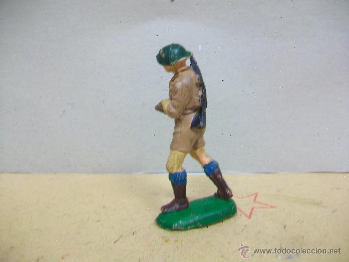Figuras de Goma y PVC: FIGURA INGLES PECH HERMANOS - FIGURA GOMA HERMANOS PECH - INGLES GOMA AÑOS 50 / 60 - Foto 4 - 48321878