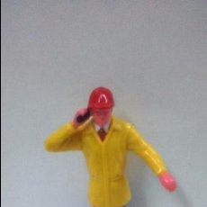 Figuras de Goma y PVC: MUÑECO OPERARIO CON TELEFONO. Lote 48329367