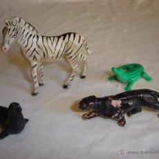 Figuras de Goma y PVC: PECH, REAMSA. LOTE DE ANIMALES. Lote 48543636