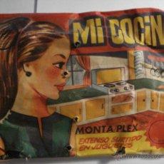 Figuras de Goma y PVC: OCASION !! SOBRE MONTAPLEX SIN ABRIR - MI COCINA - MIRA OTROS EN VENTA EN MI TIENDA. Lote 48562437