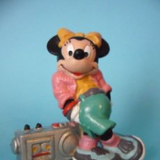 Figuras de Goma y PVC: MICKEY MOUSE FIGURA DE MINNIE MOUSE DE PVC THE WALT DISNEY COMPANY BULLY 1988. Lote 48584377