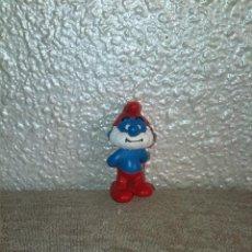 Figuras de Goma y PVC: PITUFO PAPA PITUFO MUÑECO FIGURA PVC. Lote 47043858