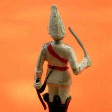 Figuras de Goma y PVC: FIGURA SOLDADO, FABRICADO EN GOMA, PECH, ORIGINAL AÑOS 60.. Lote 48746020