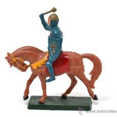 Figuras de Goma y PVC: MEDIEVAL A CABALLO DE STARLUX. Lote 48821738