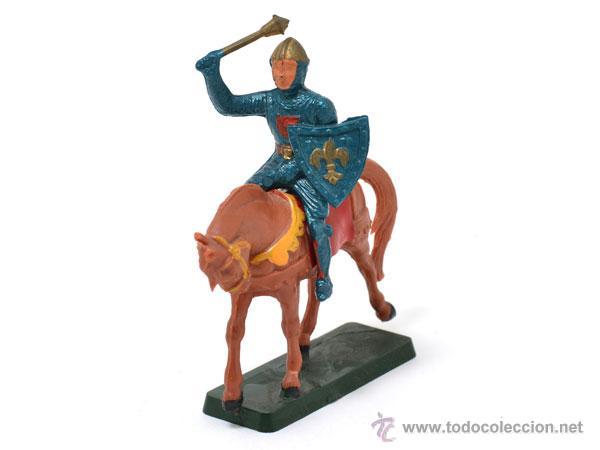 Figuras de Goma y PVC: Medieval a caballo de STARLUX - Foto 3 - 48821738