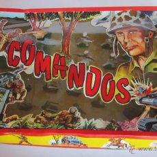 Figuras de Goma y PVC: SOLDADOS COMANDOS DE PECH, AÑOS 60, EN CAJA. CC. Lote 48878414