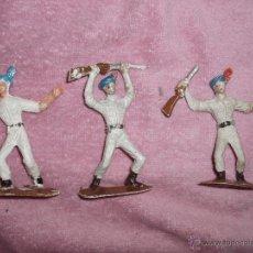 Figuras de Goma y PVC: FIGURA SOLDADOS DEL MUNDO COMANSI,INDIOS,INDU 1ª EPOCA. Lote 48912445