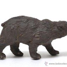 Figuras de Goma y PVC: ANIMALES - OSO DE GOMA DE LA MARCA PECH, CIRCA 1950. Lote 48934400